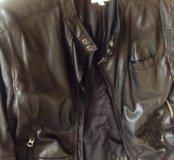 Мужская кожаная куртка Diesel