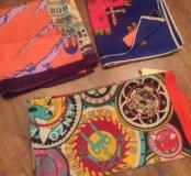 Шелковые платки новые