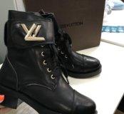 Сапоги Louis Vuitton кожа