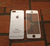 Защитные стекла на iPhone 5, 5s