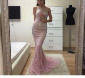 Платье новое розовое jovani