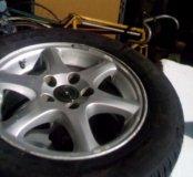 Вольво Колеса в сборе диски резина 195/65r15 Volvo