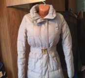 Пуховое пальто Zara
