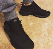 Новые мужские кроссовки Nike presto black