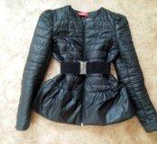Осенняя куртка с баской