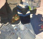 Пакет вещей для мальчика от года до полутора