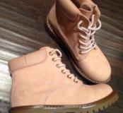 Новые женские ботинки (тимберленды)