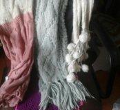 Теплые шарфы женские