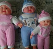 Куклы хохотушки 550 и 430 руб