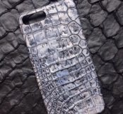 Бампер из крокодила для IPhone 7 Plus
