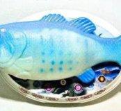 Интерактивная рыба 🐟