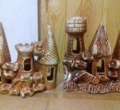 Новые керамические домики