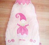 Детский спальный мешок 0-1,5 лет.
