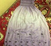 Летнее платье прозрачное