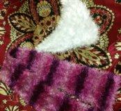 Вязанные, пушистые шарфики
