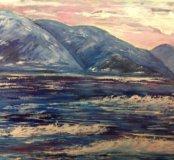 Картина Синее море.
