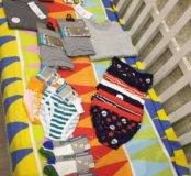 Новые трусы , майки , носки , термо р 110-116