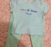 Комплект брюки и футболка