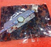 Комплект: часы и шарф