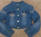 Новая джинсовая курточка