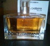 Тестер оригинал. Из личного, Dolce&Gabbana The One