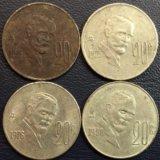 Монета Мексики, 20 сентаво