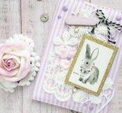 """Обложечка на паспорт """"Волшебный кролик"""""""