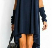 Платье с митенками универсальный размер