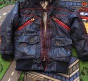 Куртка детская весна-осень 92
