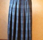 Длинная юбка в складку, р 42-44