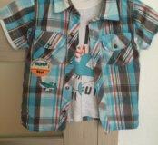 Рубашка+футболка