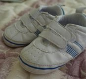 Детские пинетки-кроссовки