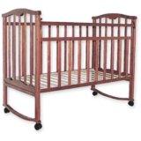 Новая кровать Агат колесо качалка