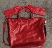 Новая сумка шопер натуральная кожа BATYCKI