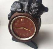 часы ссср мишка на бочке