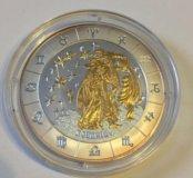 Серебряная монета 999 пробы