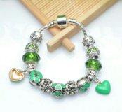 Новый браслет с шармами в стиле Pandora