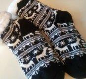 Носки домашние тёплые новые