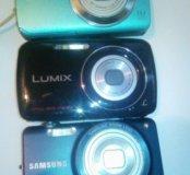 3 фотоаппарата на запчасти