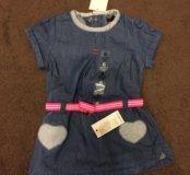 Лёгкое джинсовое платье на лето