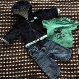 Фирменная одежда на мальчика 62-68