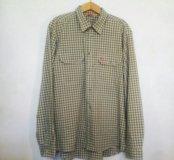 Рубашка Fjallraven XL в клетку с карманами