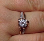золотое кольцо 18,5 разм