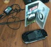 PSP 1008 фатка, почти новая, АКБ 6 часов, прошивка