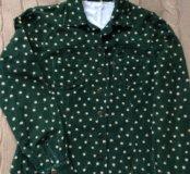 Блузка вельветовая