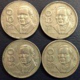 Монета Мексики, 50 песо