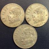 Монета Мексики, 1 песо