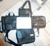 Кожаная сумки новые разные