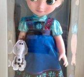 Кукла Эльза и Анна в детстве Disney