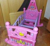 """Кровать для кукол """"Мама и малыш"""""""